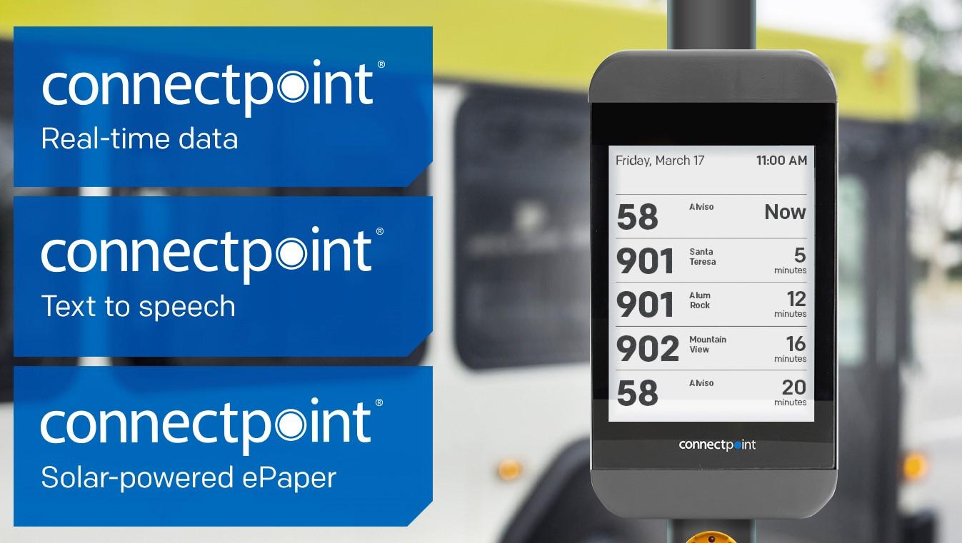 Digital Bus Stop unit feature hightlights