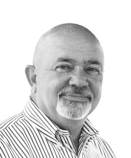 Portrait of Jim Gergich, Vice President, Sales